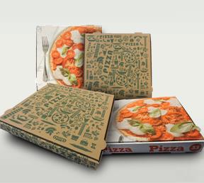 Material para reparto de pizzas