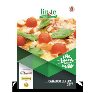 Catálogo de material para pizzerías Lineto