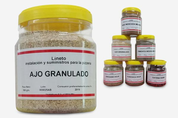 Especias seleccionadas - Lineto
