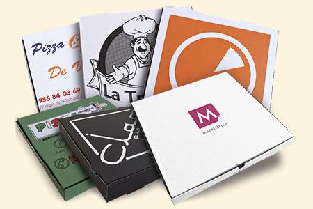 Diseño de cajas de pizzas personalizadas