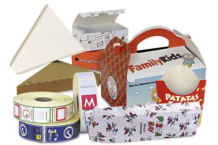 Envases de papel y cartoncillo, estandar o a medida. Máxima adaptabilidad y 100% reciclables.