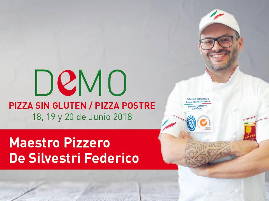Curso Pizza Sin Gluten y Pizza Postre